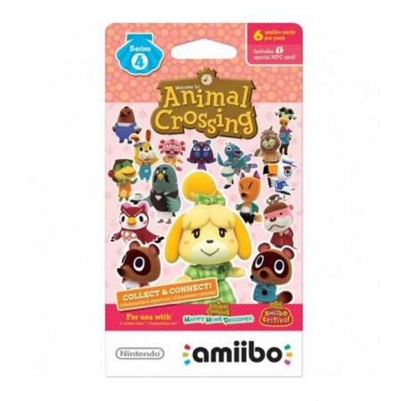 BONECO AMIIBO CARDS ANIMAL CROSSING