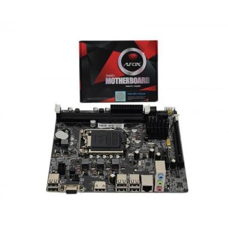 PLACA MAE AFOX (1155) IH61-MA/VGA/HDMI