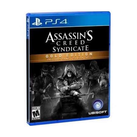 JOGO ASSASSINS CREED SYNDICATE GOLG PS4