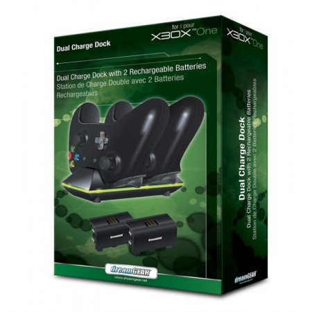 DUAL DOCK CHARGER DREAMGEAR XBOX ONE