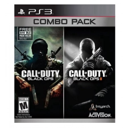JOGO CALL OF DUTY BLACK OPS 1&2 COMBO PACK