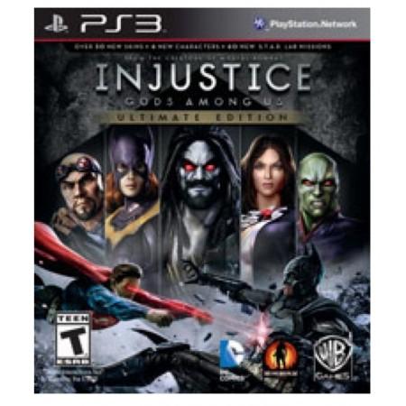 JOGO INJUSTICE GODS AMONG US ULTIMATE EDITION PS3