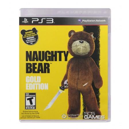 JOGO NAUGHTY BEAR GOLD EDITION PS3
