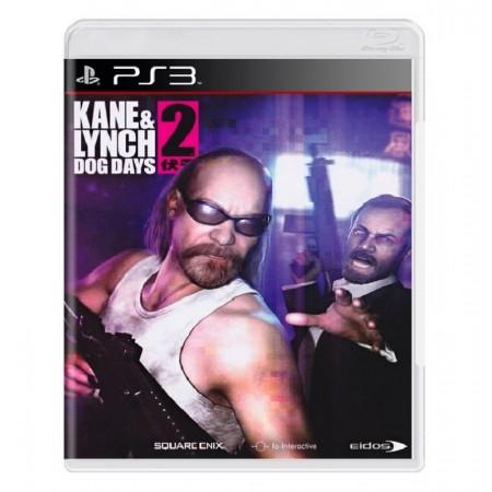 JOGO KANE AND LYNCH 2 DOG DAYS PS3