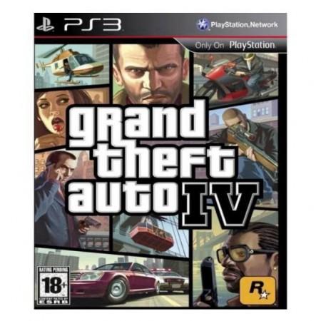 JOGO GRAND THEFT AUTO IV PS3