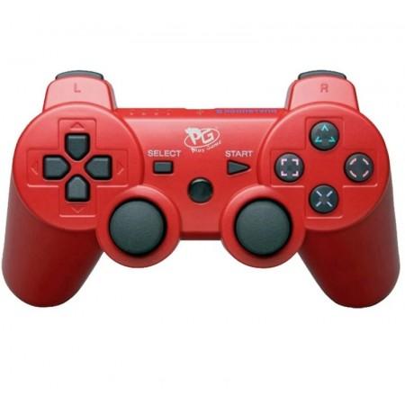 CONTROLE DUALSHOCK 3 PS3 PLAY GAME VERMELHO