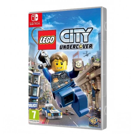 JOGO LEGO CITY UNDERCOVER SWITCH