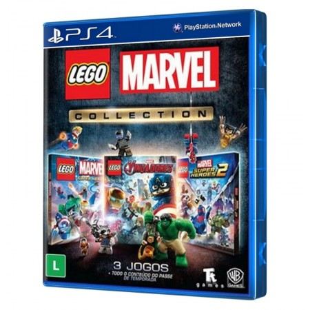 JUEGO LEGO MARVEL COLLECTION PS4