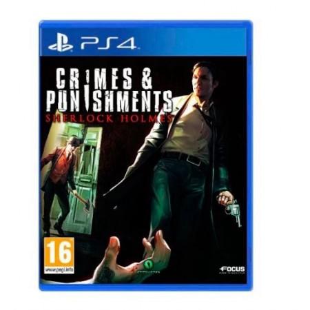 JOGO CRIMES PUNISHMENTS SHERLOCK HOLMES PS4