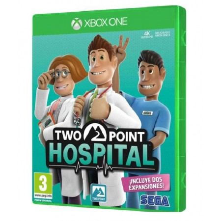 JUEGO TWO POINT HOSPITAL XBOX ONE