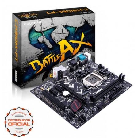 PLACA MÃE COLORFUL BATTLE-AX C.H310M-PT V20 / SOQUETE LGA 1151 / DDR4