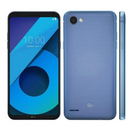 CELULAR LG Q6 PLUS 64GB / 4GB RAM / DUAL SIM / TELA 5.5 / CÂM 13MP E 5MP - AZUL (M700A)
