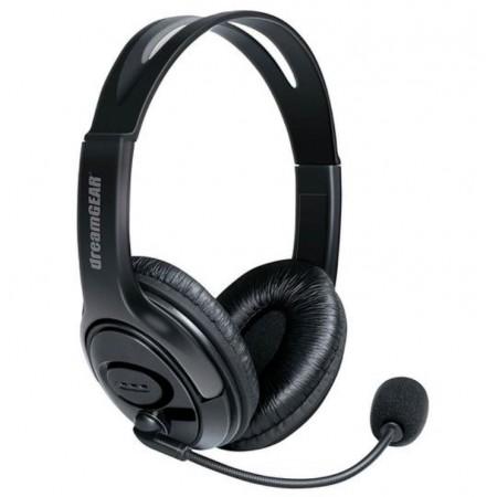 HEADSET X-TALK DREAMGEAR PARA PS4 - PRETO (6452)