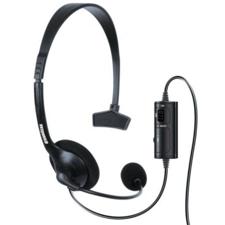 HEADSET BROADCASTER DREAMGEAR UNIVERSAL PS4 /XBOX ONE /XBOX 360 /N SWITCH- PRETO(6409)