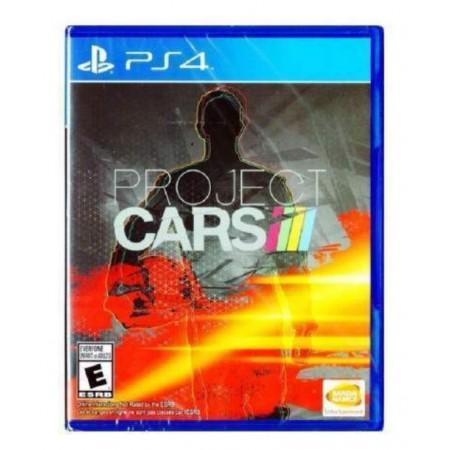 JOGO PROJECT CARS PS4