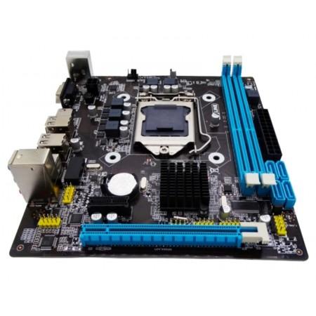 PLACA MÃE GOLINE H55 GL-H55-MA / SOQUETE 1156 / DDR3