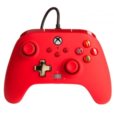 CONTROL POWERA ENHANCED WIRED PWA-A-RED PARA XBOX - RED 2483