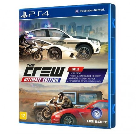JUEGO THE CREW ULTIMATE EDITION PS4