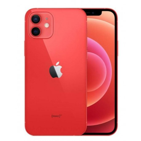 CELULAR APPLE IPHONE 12 A2403 LZ 128GB / 5G / TELA 6.1 / CÂM 12MP + 12MP E 12MP- RED