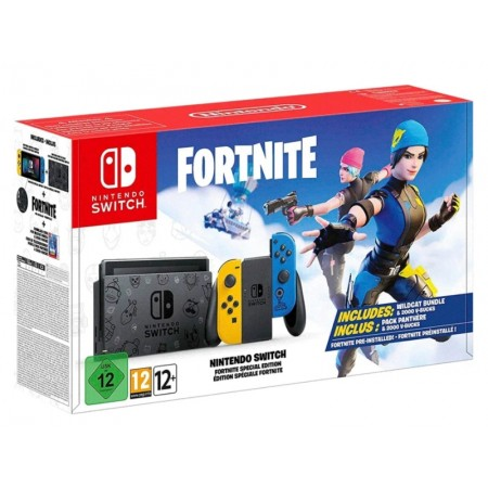 CONSOLE NINTENDO SWITCH 32GB FORTNITE EDITION