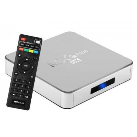 RECEPTOR TV BOX MXQ PLUS 6K 16GB / 2GB RAM - CINZA