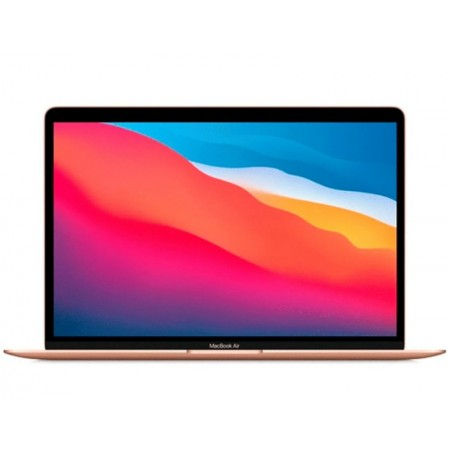 NOTEBOOK APPLE MACBOOK AIR MGND3LL/A M1 / 8GB RAM/ SSD 256GB / TELA 13.3 - GOLD