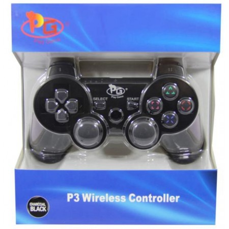 CONTROLE DUALSHOCK 3 PS3 PLAY GAME PRETO