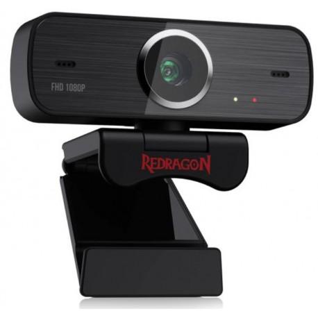 WEBCAM HITMAN REDRAGON GW800 / 1080P - PRETO