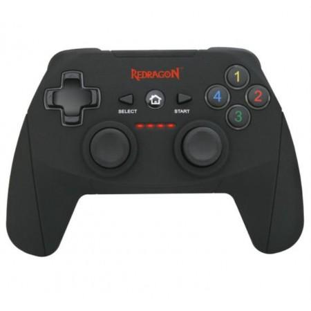 CONTROLE REDRAGON WIRELESS HARROW G808 PC, PS3 - PRETO