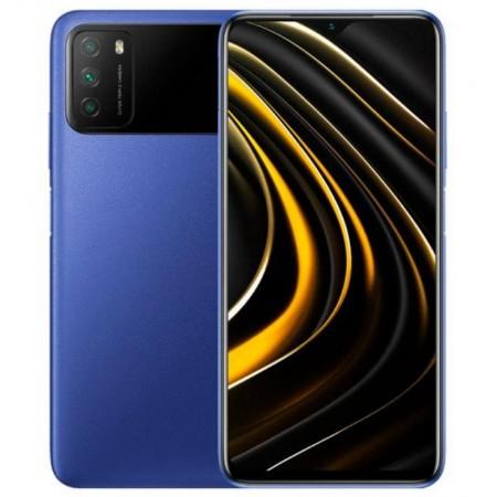 Celular Xiaomi Poco M3 128GB / 6GB RAM / 4G / Dual SIM / Tela 6.53 / Câm 48MP - Azul (Car