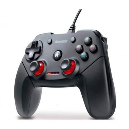 Controle Dreamgear com fio para PS3 Shadow - Preto (DGPS3-3880)