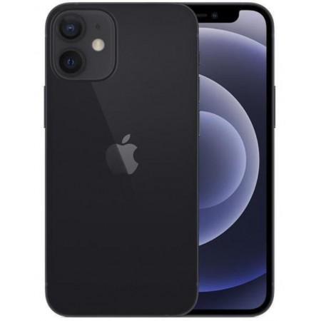 Celular Apple iPhone 12 Mini A2399 LZ 64GB / 4GB RAM / Tela 5.4 / Câm 12MP -Preto