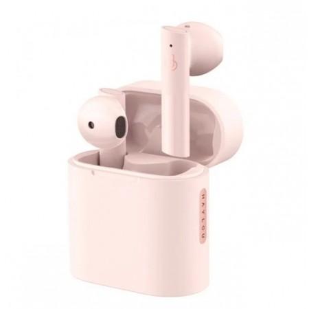 Fone de Ouvido Haylou T33 Earbuds Moripods Bluetooth - Rosa