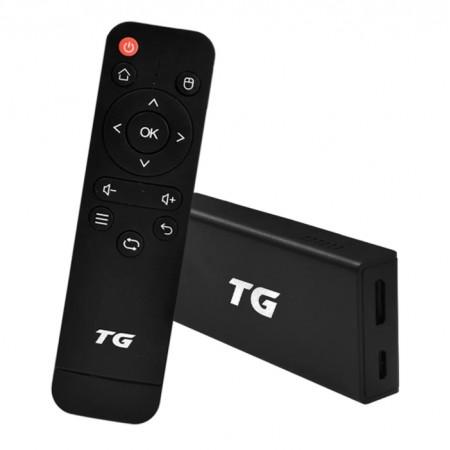 Receptor TG TV Stick 16GB / 2GB RAM / 4K / Android 9.0 / HDMI - Preto