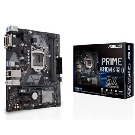 Placa-Mãe Asus Prime (1151) H310M-KR 2.0 / DDR4
