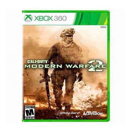 JOGO CALL OF DUTY WARFARE 2 XBOX 360
