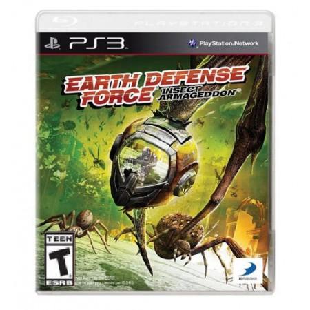 JOGO EARTH DEFENSE FORCE INSECT ARMAGEDDON PS3