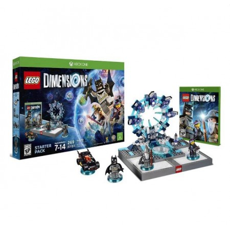 JOGO LEGO DIMENSIONS STARTER PACK XBOX ONE