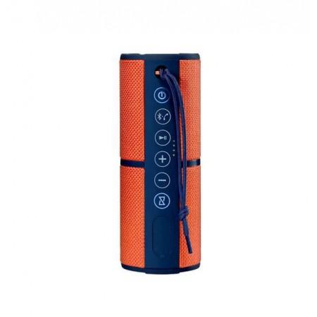 CAIXA DE SOM MULTILASER SP246 MINI WATERPROOF BLUETOOTH 15W ORANGE - BLUE
