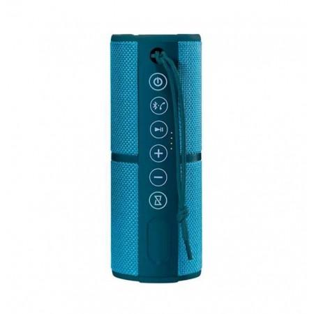 CAIXA DE SOM MULTILASER SP253 MINI WATERPROOF BLUETOOTH 15W BLUE