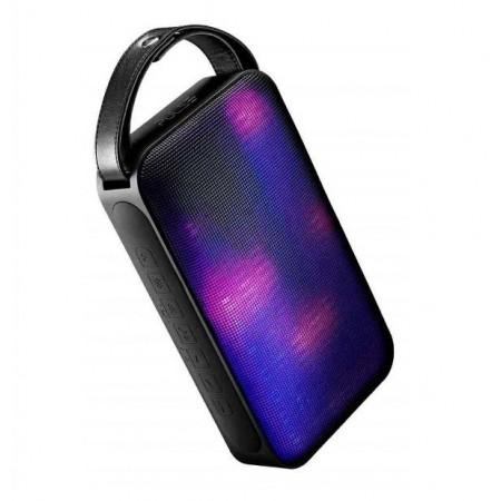 CAIXA DE SOM MULTILASER SP234 PAINEL LED BLUETOOTH LED SD AUX 50W BLACK