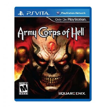 JOGO ARMY CORPS OF HELL PS VITA
