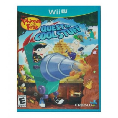 JOGO PHINEAS AND FERB QUEST FOR COOL STUFF WII U