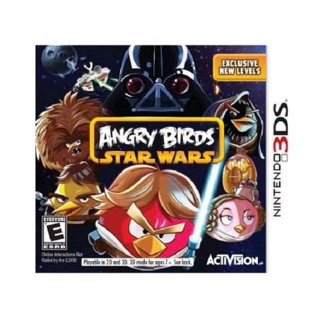 JOGO ANGRY BIRDS STAR WAR 3DS