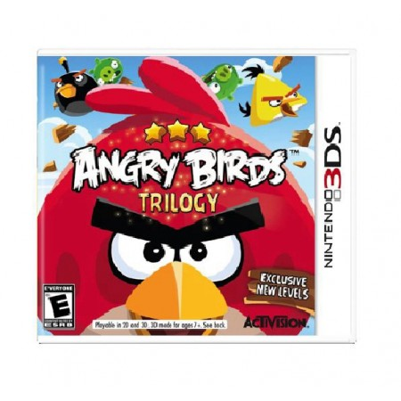JOGO ANGRY BIRDS TRILOGY 3DS