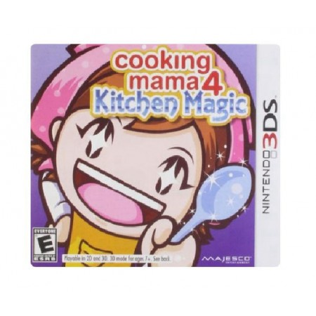 JOGO COOKING MAMA 4 KITCHEN MAGIC 3DS