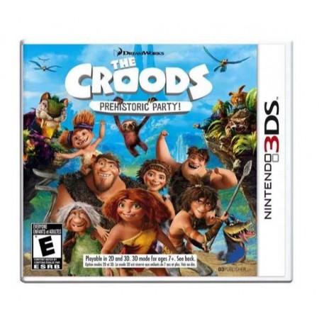 JOGO CROODS PREHISTORIC PARTY 3DS