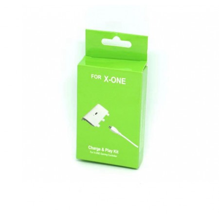 PLAY AND CHARGE PLAY GAME BRANCO PARA XBOX ONE