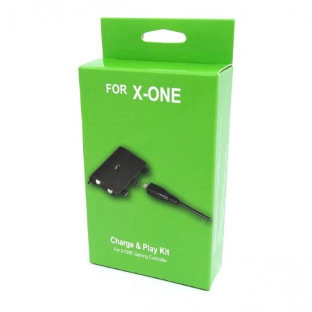 PLAY AND CHARGE PLAY GAME PRETO PARA XBOX ONE
