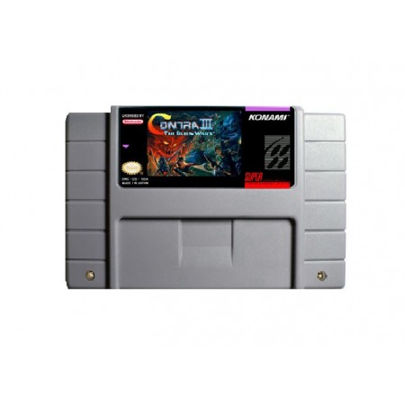 JOGO CONTRA III THE ALIEN WARS SUPER NINTENDO